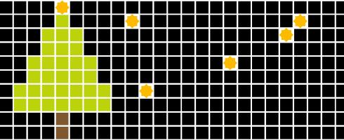 Adent-mosaik (c) mosaik